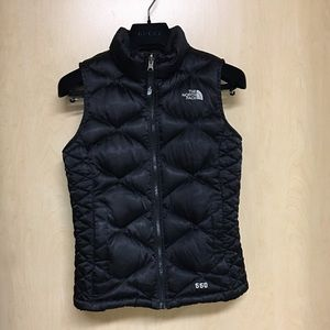 •LOW PRICE AS IS• $135 NORTH FACE DOWN BLACK VEST